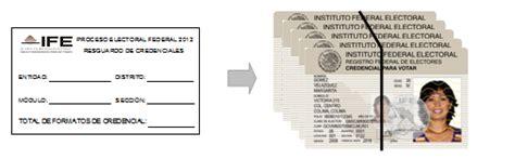 formato credencial de elector dof diario oficial de la federaci 243 n