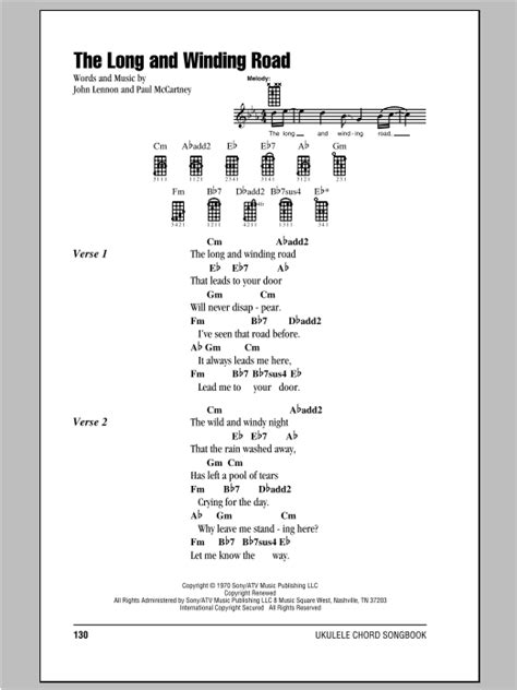 The Long And Winding Road | Sheet Music Direct