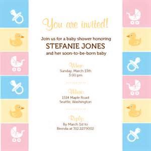 baby border baby shower invitation look send