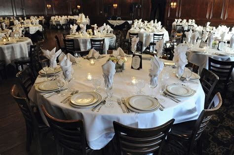 banquet table setup brinker international media room image gallery