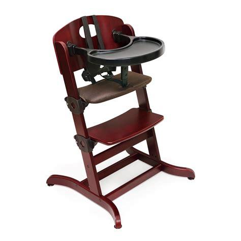 high chairs badger baskets 91700 evolve convertible wood high chair