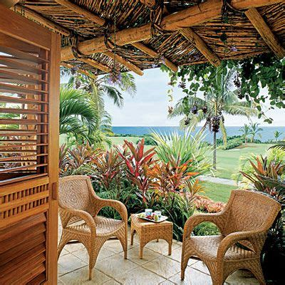 Outdoor Tropical Decor by 17 Best Images About Tropical Decor Outdoor Living On