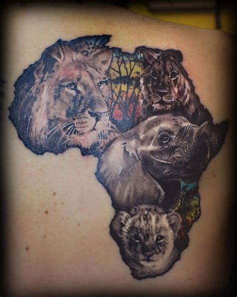 african map tattoos page 2 tattooshunter