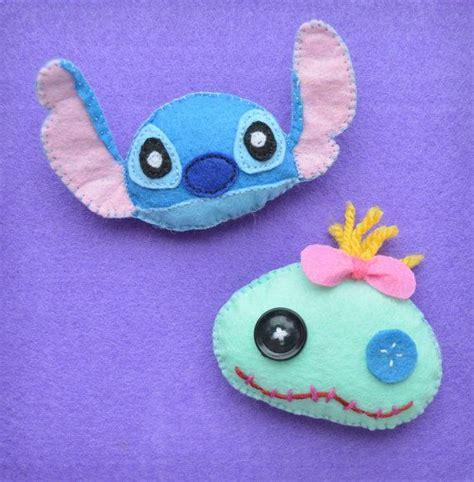 stitches manualidades lilo and stitch brooch felt brooch by