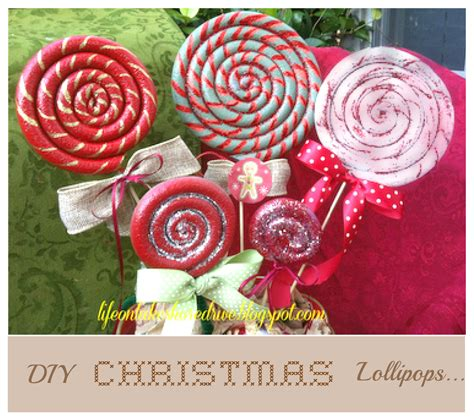 outdoor 8 diameter christmas lollipops craftionary