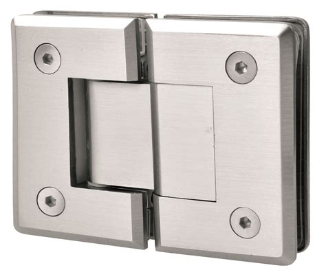 shower door hinges stainless steel