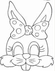 easter mask template 7 best images of printable easter bunny masks easter