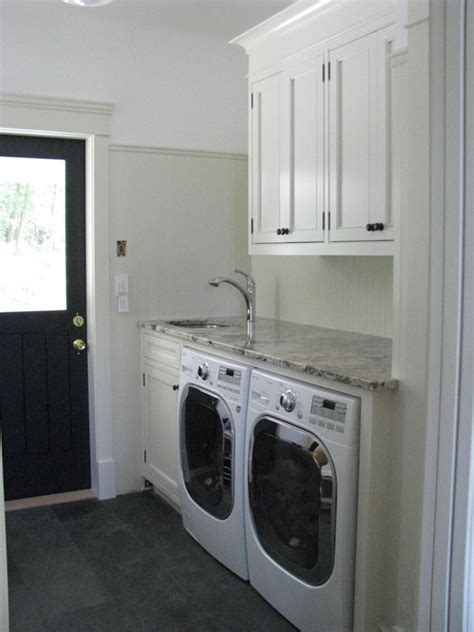 laundry mud room designs black door cottage laundry room wesley ellen design