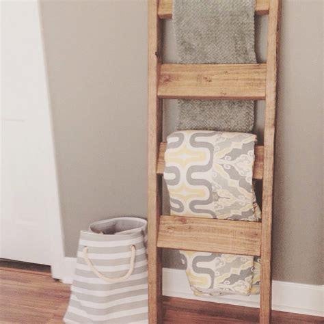 wooden blanket ladder shanty 2 chic