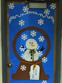 Winter door decoration for class bulletin boards pinterest