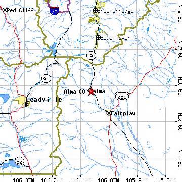 alma colorado map alma colorado co population data races housing
