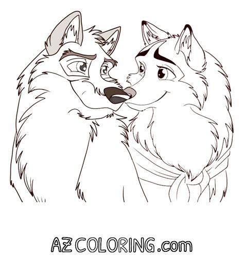balto coloring pages coloring home