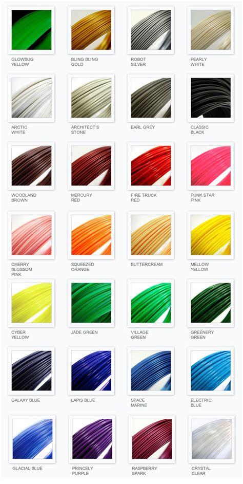 Printer 3d Color 3d printer filament colors www pixshark images galleries with a bite