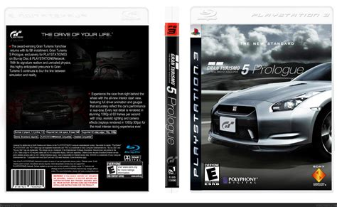Gran Turismo Prologue Ps3 gran turismo 5 prologue playstation 3 box cover by kaiboy12