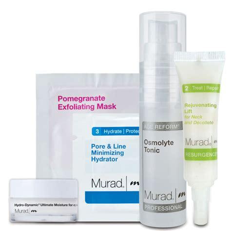 Limited Nourish Skin Ultimate 60s Nourishskin Gf677 murad hydration and radiance kit free shipping lookfantastic