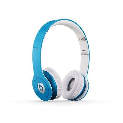 beats light blue beats by dr dre beats hd headphones with controltalk