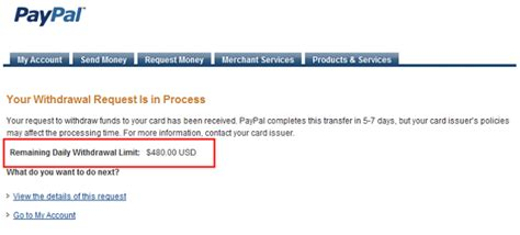 how to make a withdrawal from credit card withdraw paypal funds into visa credit debit or prepaid