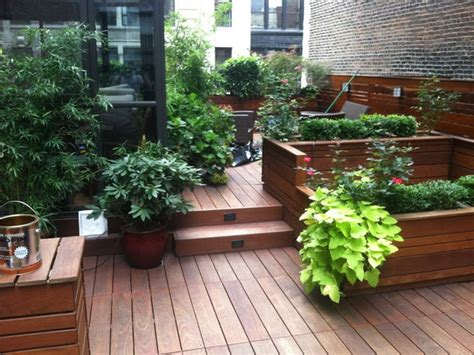 Planters Nyc by Best Custom Wood Planter Boxes By Nyplantings