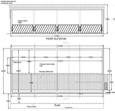 griswouls building plans  livestock sheds
