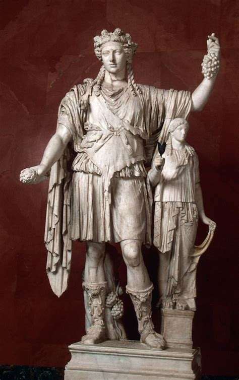dionysus greek god statue hey archaeologists caryatids at amphipolis more links at