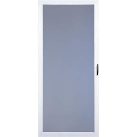 Comfort Door by Shop Comfort Bilt Springfield White View Tempered
