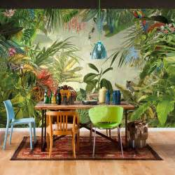 Beau Salle De Bain Tropicale #6: Custom-Size-Southeast-Asian-font-b-Rainforest-b-font-Banana-Leaf-3D-Mural-font-b-Wallpaper.jpg