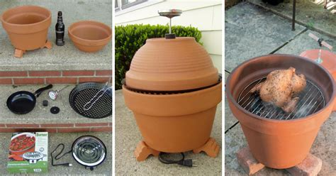 diy projects easy easy diy project make your own terracotta smoker