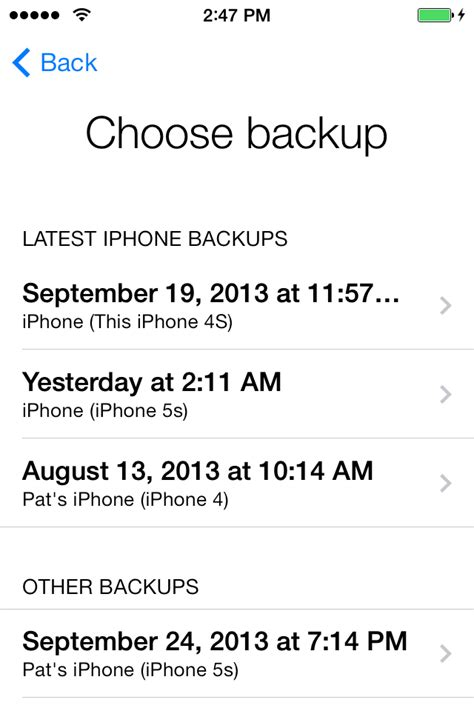 Get help restoring from an iCloud backup - Apple Support