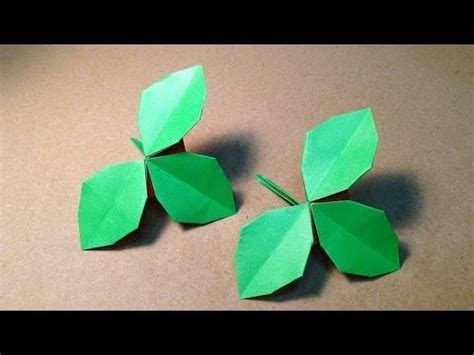 Helix Origami - foglie origami origami helix and