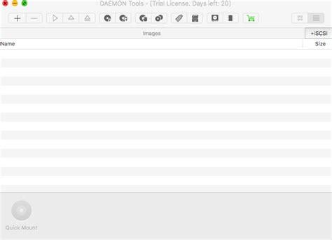 daemon tools  mac    software reviews