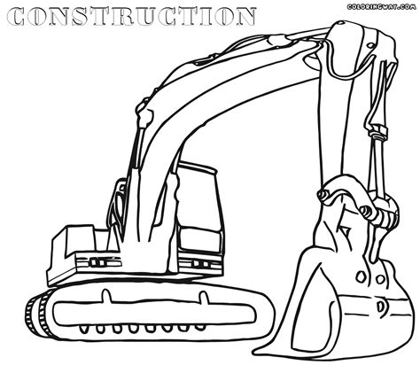 Construction Coloring Pages Coloring Pages To Download Construction Colouring Pages