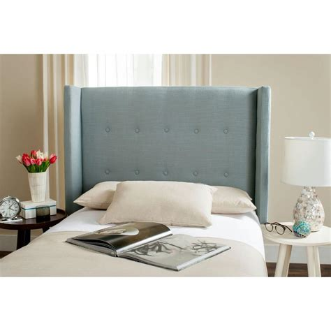 blue twin headboard safavieh damon sky blue twin headboard mcr4046c t the