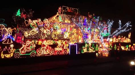 most xmas lights on a house youtube