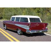 1957 CHEVROLET 210 CUSTOM WAGON  116281