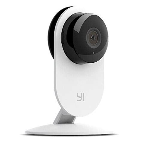 Xiaomi Xiaoyi Smart Cctv With Nightvision Black xiaomi xiaoyi smart cctv home with nightvision international vers white