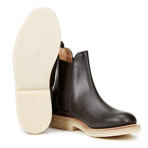 s crepe sole boots ymc s solovair leather crepe sole chelsea boots