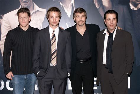 george clooney and matt damon brad pitt and andy garcia photos photos zimbio