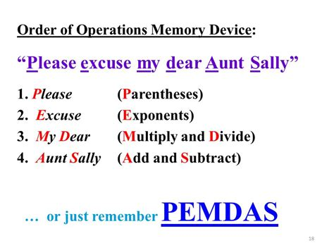 excuse my dear sally worksheets 100 excuse my dear sally worksheets pictures on order of operations problems