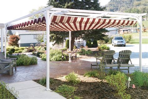 pergola with awning aristocrat pergolas and canopies ch s awning