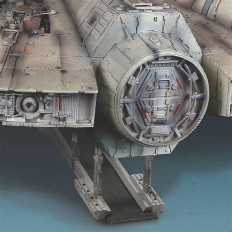 Cetakan Es Batu Model Wars Millennium Falcon build the millennium falcon model de agostini modelspace