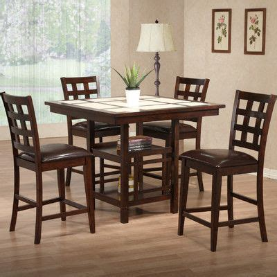Promo Top Oline Square primo international mystic counter height dining table