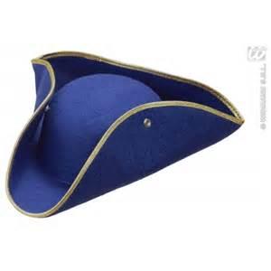 tricorn hat for fancy dress sanc1404