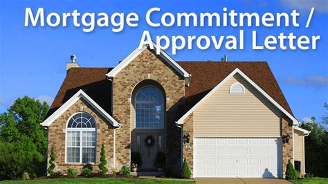what is a commitment letter when buying a house mortgage commitment letter nailing down your financing mortgage rates mortgage