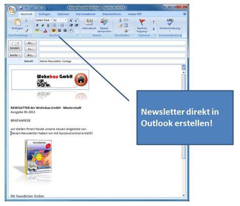 outlook newsletter erstellen mit bildern grafiken und atemberaubend outlook e mail vorlage ideen beispiel