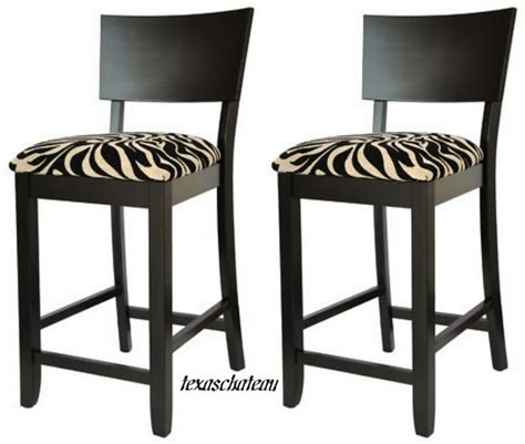 zebra bar chairs 30 quot contemporary style furniture 2 black zebra bar stools
