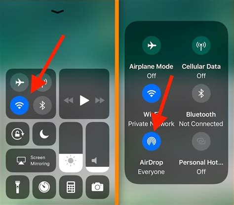 fix airdrop missing  iphone