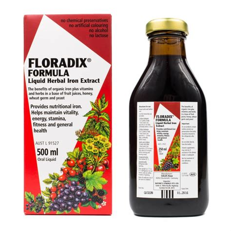 5 Point Detox Chemist Warehouse by Floradix Formula Liquid Herbal Iron Extract 500ml