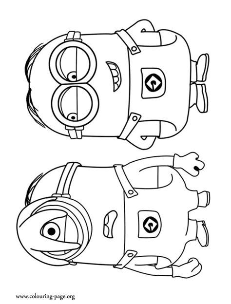 minion pictures to color despicable me minion coloring pages coloring home