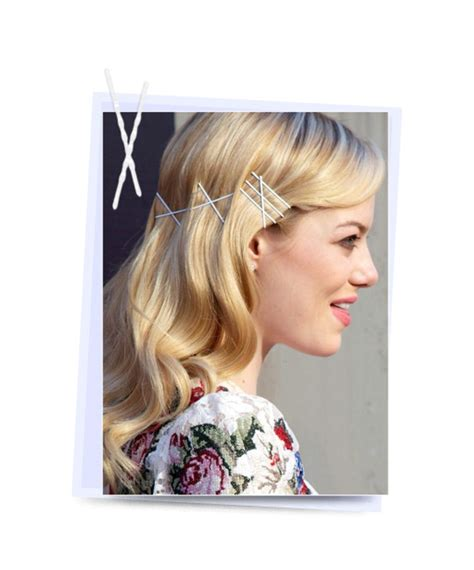 How To Use Hairstyle Tools On Tv by 10 Stylish Hairstyles With Bobby Pins Beautyfrizz