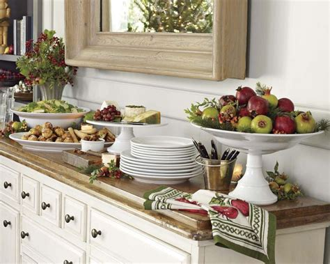 Williams Sonoma Home by Elegant Buffet Setting Party Time Pinterest